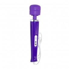Фиолетовый вибромассажер Magic Wand